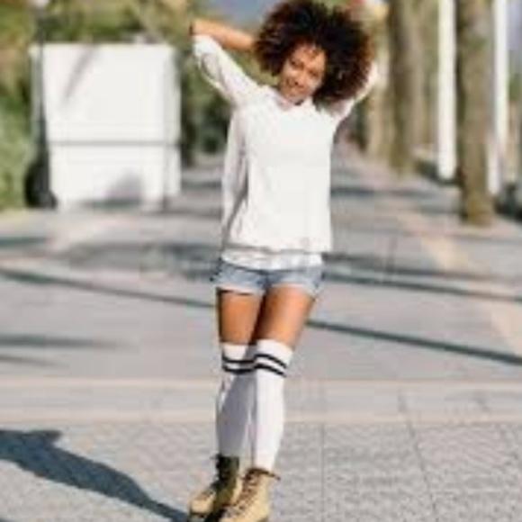 742cd5ed5f8 adidas Accessories - 🖤 Adidas Knee High Socks 😎